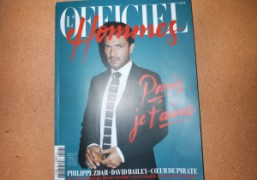THE NEW L'OFFICIEL HOMMES BY ANDRÉ ISSUE JUST OUT, Paris