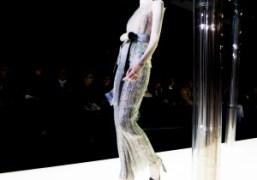 Giorgio Armani Privé Haute Couture S/S 2015 show at Palais de Tokyo,...