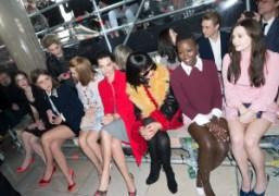 Stacy Martin, Adèle Exarchopoulos, Lea Seydoux, Margot Robbie,Rihanna, Lupita Nyong'o, and Elizabeth…