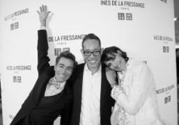 Vincent Darré, Naoki Takizawa and Inès de La Fressange at Inès de…