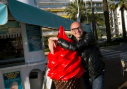 Michel Hakimian from Karla Otto at the Hotel Martinez, Cannes. Photo Olivier…