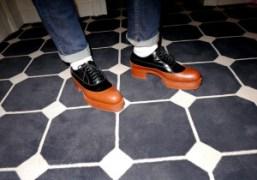 Prada shoes at Olympia Le Tan's new showroom, Paris. Photo Olivier Zahm