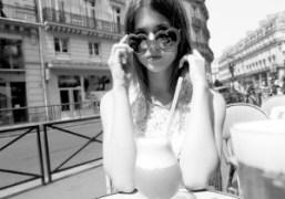 Russian Lolita Jennifer visiting Purple, Paris