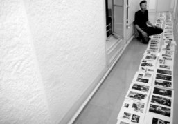 Gianni Oprandi working on the next issue of Purple Fashion Magazine, Purple…