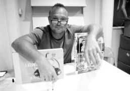 Juergen Tellerat his book signing forEating at Hotel Il PellicanoatDashwood Books,New York.Photo…