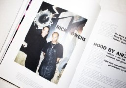 Read our exclusive interview with Rick Owens and Shayne Oliver in Purple...