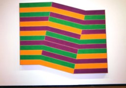 FRANK STELLA, CONNECTIONS AT THE HAUNCH OF VENISON, LONDON