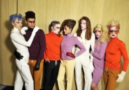 Models at the Louis Vuitton Cruise 2016 show at theBob and Dolores…