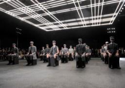 Thom Browne Men's S/S 2015 show at Halle Freyssinet, Paris