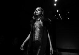 Fur and transparencies at alessandro dell'acqua, F/W 09/10 collection, Milano