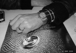 André's cartier love ring next to the Cartier Trinity Ring and his…