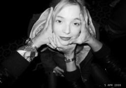 Charlotte Chesnais at Le Montana, Paris. Photo Olivier Zahm