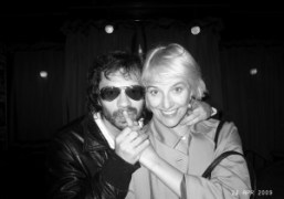 Olivier Zahm and Vanessa Bruno at Le Montana, Paris. Photo Olivier Zahm