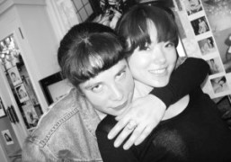 Me with Araki's beautiful girlfriend Kaori at his karaoke bar. Araki took…