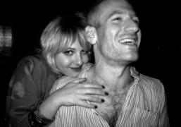 Natasha Royt and Mel Ottenberg at the Jane Hotel, New York. Photo…