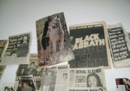 Dash Snow's Bowery studio, New York. Photo Olivier Zahm