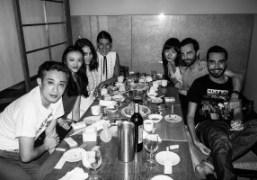 Dinner with Chikashi Suzuki, Rila Fukushima, Natacha Ramsay-Levi, Doona Bae, Nicolas Ghesquière...