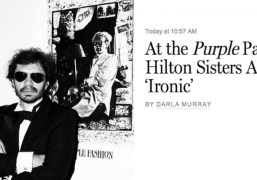 A review of the Purple 20th Anniversary Dinner with BLK DNM by...