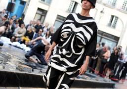 Henrik Vibskov Men's S/S 2015 show at Place Baudoyer, Paris