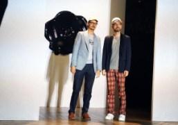 Viktor Horsting andRolf Snoeren at the finale ofViktor & Rolf Men's Spring/Summer…