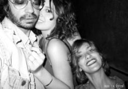 Olivier Zahm, Su Beyazit, and Sophie Aschauer at Avenue, New York. Photo…