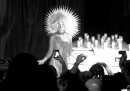Lady Gaga performing at the V Magazine and Marc Jacobs party, New…