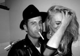 Andre and Lindsay Lohan at Vladimir Restoin Roitfeld and Andy Valmorbida Richard…