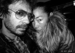 Olivier Zahm and Cecilia Dean at Omen, New York. Photo Olivier Zahm