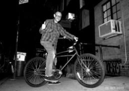 Terry Richardson at Omen, New York. Photo Olivier Zahm