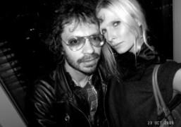 Olivier Zahm and Christina Kruse at The Boom Boom Room, New York….