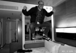 Terry Richardson at the Standard Hotel, New York. Photo Olivier Zahm