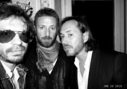 Olivier Zahm, Stefano Pilati, and Marc Newson at the Yves Saint Laurent…