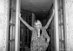 Olympia Scarry at the Yves Saint Laurent dinner at Caviar Kaspia, Paris….