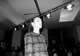 Freja Beha at the Jil Sander Fall/Winter show, an ultramodern variation on…