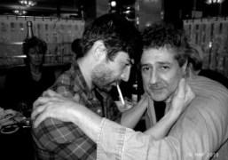 Andre Saraiva and Edouard Merino at the Café de Flore, Paris. Photo…