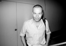 German photographer and artist Wolfgang Tillmans at Artist's Space, New York. Photo…