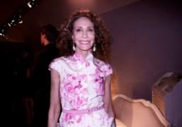 The aristocratic and beautiful Marisa Schiaparelli Berenson at the Dior F/W 2010…