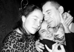 Olympia Le Tan, Cleo Le Tan, and Jean-Marie Delbes at Le Baron,…