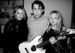 Charlotte Ronson, Alexander and Annabelle Dexter-Jones at the Dexter-Jones/Ronson Thanksgiving dinner, New…