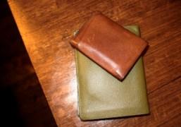 Olivier Zahm's Hermes wallet and André Saraiva's Charvet wallet, Paris. Photo Olivier…