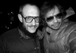 Terry Richardson and Olivier Zahm on Prince street, New York. Photo Olivier…