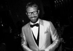 Ultra chic Stefano Pilati at the Premiere of Le Comte Ory by…