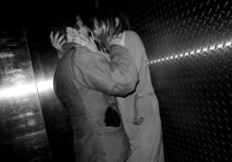 Andre Saraiva kissing Annabelle Dexter-Jones at Le Bain, Standard Hotel, New York….