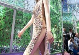 Dior Haute Couture F/W 2015 show at the Musée Rodin, Paris