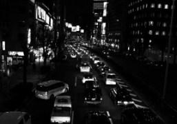 Traffic Jam in Aoyama, Tokyo