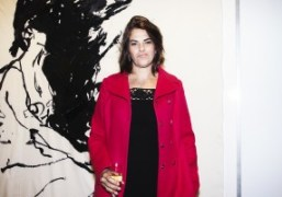 """Tracey Emin """"Stone Love"""" exhibition opening at Lehmann Maupin, New York"""