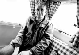 A portrait of Martin Parr at the Photo London 2016, London