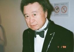 "Kishin Shinoyama at his new show ""La Maison de rendez-vous"" at Hara..."