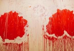 Cy Twombly exhibition at Centre Pompidou, Paris