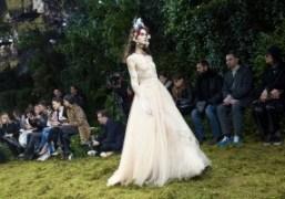 Dior Haute Couture S/S 2017 show at Rodin Museum, Paris